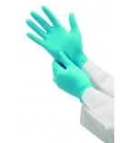 Boîte de 100 gants nitrile - large 8,5 - bleu