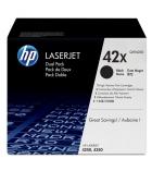 Cartouche d'impression laser HP toner noir 20000 pages - Q5942X - 42X