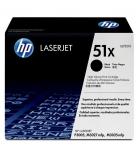 Cartouche d'impression laser noir HP 13000 pages - Q7551X - 51X