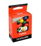 Cartouche d'impression jet d'encre 3 couleurs  LEXMARK 150 pages - 18C1429E - 29