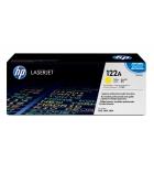 Cartouche d'impression laser couleur jaune HP 4000 pages - Q3962A - 122A