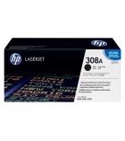 Cartouche d'impression laser couleur HP toner noir 6000 pages - Q2670A - 308A