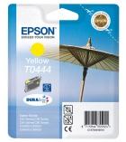 """Cartouche d'impression """"parasol"""" jet d'encre jaune EPSON 400 pages - C13T044440 - T0444"""