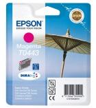 """Cartouche d'impression """"parasol"""" jet d'encre magenta EPSON 400 pages - C13T044340 - T0443"""