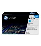 Cartouche d'impression laser couleur HP toner cyan 12000 pages  - C9731A - 645A