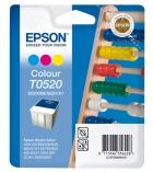 """Cartouche d'impression """"boulier"""" jet d'encre 3 couleurs EPSON 300 pages - C13T05204010 - T0520"""