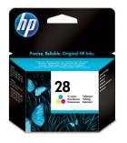 Cartouche d'impression jet d'encre 3 couleurs HP 250 pages - C8728AE - 28