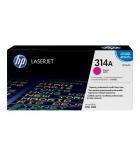 Cartouche d'impression laser couleur magenta HP 3500 pages - Q7563A - 314A