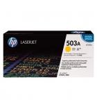 Cartouche d'impression laser couleur jaune HP 6000 pages - Q7582A - 503A