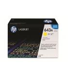 Cartouche d'impression laser couleur jaune HP 10000 pages - Q5952A - 643A