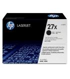 Cartouche d'impression laser noir HP 10000 pages - C4127X - 27X