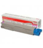 Cartouche d'impression laser couleur magenta OKI 1500 pages - 43459330
