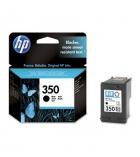 Cartouche d'impression jet d'encre noire HP 200 pages - CB335EE - 350