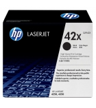 Pack 2 cartouches d'impression laser HP toner noir 2 x 20000 pages - Q5942XD - 42XD