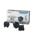 Boîte de 3 sticks laser couleur noire XEROX 3400 pages - 108R00726