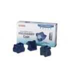 Boîte de 3 sticks laser couleur cyan XEROX 3400 pages - 108R00723