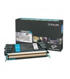 Cartouche d'impression laser couleur cyan LEXMARK 5000 pages - C5240CH