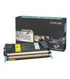 Cartouche d'impression laser couleur jaune LEXMARK  5000 pages - C5240YH