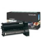 Cartouche d'impression laser couleur noir LEXMARK 10000 pages - C7700KH