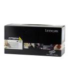 Cartouche d'impression laser couleur jaune LEXMARK 10000 pages - C7700YH