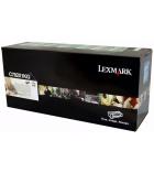 Cartouche d'impression laser couleur noir LEXMARK 15000 pages - C782X1KG