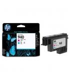 Tête d'impression jet d'encre HP cyan/magenta  - C4901A - 940