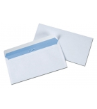 Boîte de 200 enveloppes auto-adhésives 110 x 220 mm - sans fenêtre - 100 g