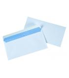 Boîte de 200 enveloppes auto-adhésives - 110 x 220 mm - fenêtre 35 x 100 - 100 g