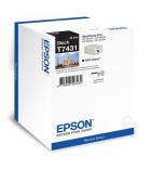 Cartouche d'impression jet d'encre noire EPSON 2500 pages - C13T743140 - T7431