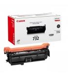 Cartouche d'impression laser couleur noir CANON 6100 pages - CRG-732