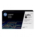 Cartouche d'impression laser couleur HP toner noir 17000 pages - CE260X - 649X