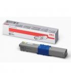 Cartouche d'impression laser couleur jaune OKI 5000 pages - 44469722