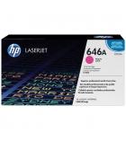 Cartouche d'impression laser couleur HP toner magenta 12500 pages - CF033A - 646A