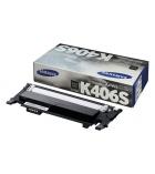 Cartouche d'impression laser couleur noir SAMSUNG 1500 pages - CLT-K406S