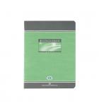 Cahier brouillon piqûre - CONQUERANT - recyclé - 48 pages - 17 x 22cm - seyès