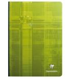 Cahier brochure dos toilé CLAIREFONTAINE 69141 - 192 pages - 21 x 29,7 cm - séyès