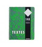Cahier de texte spirale - 148 pages - 17 x 22cm - séyès