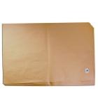 Paquet de 25 feuilles kraft brun - PEFC - 0,70 x 1 m