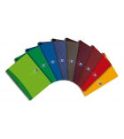 Cahier spirale OXFORD Essentials - 180 pages - 24 x 32cm - 5 x 5