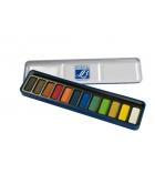 Boîte de 12 pastilles aquarelle LEFRANC & BOURGEOIS