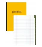 Registre échéancier piqûre - 200 pages - 29,7 x 21 cm