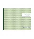 Livre de paies EXACOMPTA piqûre - 60 pages - 27 x 36 cm