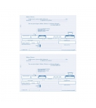 Lettres de change ELVE - 519 - ramette de 100 feuilles - 2 traites - A4