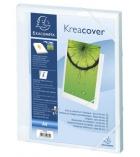 Chemise box personnalisable EXACOMPTA Kreacover - 24 x 32cm - dos 2,5cm - cristal