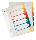 Jeu intercalaires imprimables polypro LEITZ 6 touches - A4+