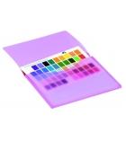 Le sachet de 6 porte-documents TARIFOLD T-Collection - coloris translucides assortiment