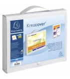 Valisette à poignée EXACOMPTA Kréacover - personnalisable - A4+