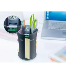 Dévidoir POST-IT - pot à crayons multi-fonctions - compact