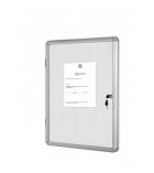 Vitrine d'intérieur BI-OFFICE - enclore magnétique - 12 feuilles A4