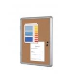 Vitrine d'intérieur BI-OFFICE - enclore liège - 6 feuilles A4
